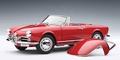 Alfa Romeo Giuliette spider Rood Red vcabrio + hardtop 1/18