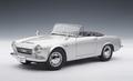 Datsun Nissan Fairlady 2000 Zilver silver cabrio + softtop 1/18