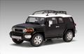 Toyota FJ Cruiser Zwart Black 1/18
