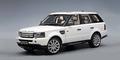 Land Rover Range Rover  sport wit white  2006 1/18