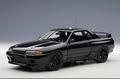 Nissan Skyline FT-R R32 Zwart Black 1/18