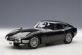 Tyota 2000 GT Zwart  Black  met wiel spaken spoke wheels 1/18