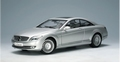 Mercedes Benz  CL-Classe zilver silver 1/18