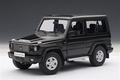 Mercedes Benz  G 500 SWB 1998 zwart  black 1/18