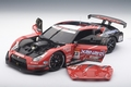 Nissan GT-R Racing super GT 2008 Launch version # 22 -23  1/18