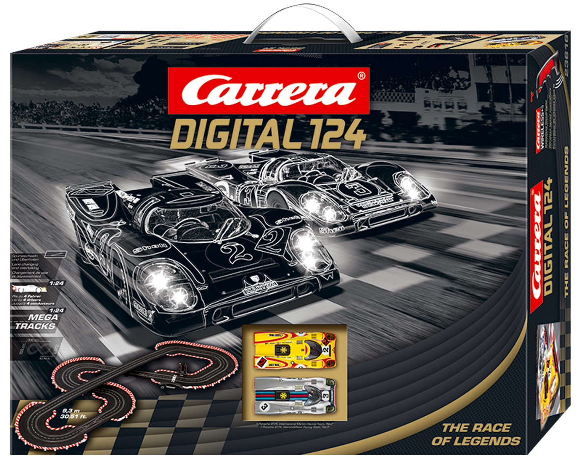 Carrera The Race of Legends digitaal met draadloze regelaars 1/24