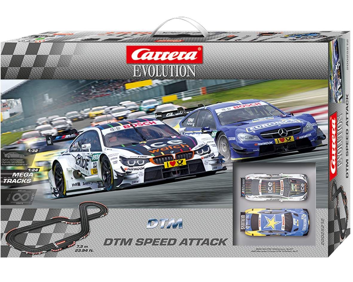 Carrera DTM Speed Attack 1/32