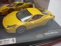 Ferrari 458  Italia  geel yellow 1/32