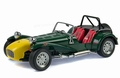 Caterham super seven clam shell fender groen green 1/18