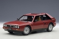 Lancia Delta S4 rood red  1/18