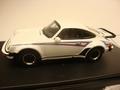 Porsche 911 turbo 1975 wit white Martini edition 1/43