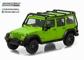 Jeep Wrangler unlimited 2013 Moab Fluo groen green  1/43
