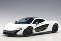 Mc Laren P 1 wit mat white 1/18