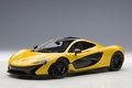 Mc Laren P 1 geel vulcano yellow 1/18