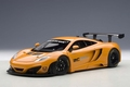 Mc Laren 12 C GT3  Presentation car oranje orange metallic 1/18