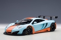 Mc Laren 12 C GT3 oranje/blauw orange/ blue Gulf edition 1/18