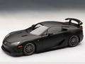 Lexus LFA Nurburgring package  zwart matt black 1/18