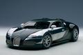 Bugatti Veyron L'edition centenaire  groen racing green 1/18