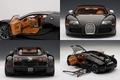 Bugatti EB Veyron 16,4 Sang noir zwart black 1/18