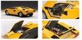 Lamborghini Countach LP 400 geel  yellow 1/18