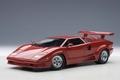 Lamborghini Countach rood red 25 th Aniversary edition 1/18
