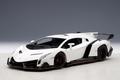 Lamborghini Veneno wit white  1/18