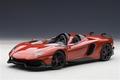 Lamborghini Aventador J rood metallic red 1/18