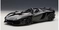 Lamborghini Aventador J zwart  black 1/18