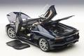 Lamborghini Aventador LP700-4  Roadster metallic dark blue 1/18