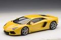 Lamborghini Aventador LP700-4  geel metallic yellow 1/18