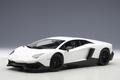 Lamborghini Aventador LP720-4 wit white bianco canopus/matt 1/18