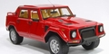 Lamborghini LM002 rood red  1/18