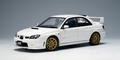 Subaru Impreza WRX STI 2006 wit  white  1/18