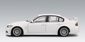 BMW  320 Si WTCC 2006 plain body version white wit 1/18