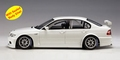 BMW 320 i WTCC plain body version white wit 1/18