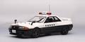 Nissan Skyline GTR R32 Police car Ibaraki - Kenkei 1/18
