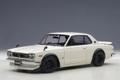 Nissan Skyline GT-R Tuned version wit white 1/18