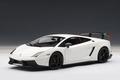 Lamborghini Gallardo LP570 Supertrofeo stradale wit - white 1/18