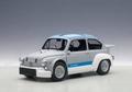 Fiat Abarth 1000 TCR Grijs matt Grey / Blauw Blue stripes 1/18