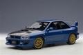 Subaru Impreza 22B-STI version upgraded version Blauw Blue 1/18