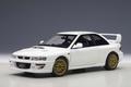 Subaru Impreza 22B-STI upgraded version Wit White 1/18