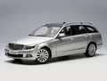 Mercedes Benz C CLasse T model Elegance Zilver Silver 1/18