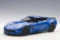Chevrolet Corvette C7 Z06 Blauw Laguna Blue tincoat 1/18