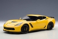 Chevrolet Corvette  C7 Geel Corvette racing Yellow 1/18
