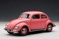 VW Volkswagen 1200 Kever Beetle 1955 Roos  Pink 1/18