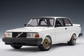 Volvo  240 Turbo Plain body version  Wit White  1/18