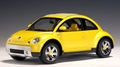 VW Volkswagen new Betle Dune  Geel Yellow 1/18