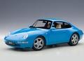 Porsche 911 993 Carrera Blauw metallic Blue 1/18