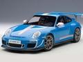 Porsche 911 997 GT3 RS 4,0 Blaiw Blue 1/18