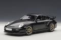 Porsche 911 997 GT2 RS Zwart  Black 1/18